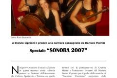 NNE - 2007 Premio Sonora 1