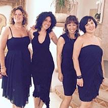 Italian female quartet for live performances