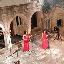 Cinema music italian live performers